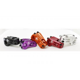 Kink Downside Matte Electric Silver BMX Bike