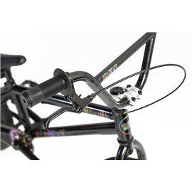 BSD Swerve black front BMX hub