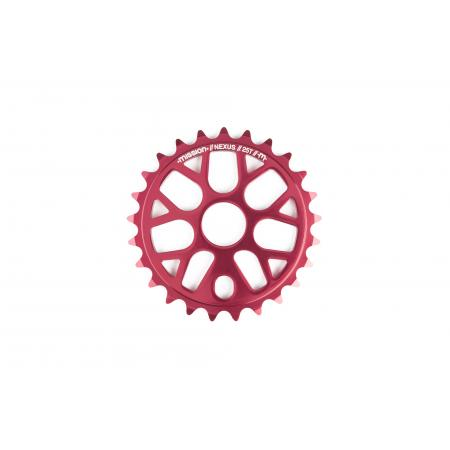 Sunday Forecaster 2019 20.75 Gloss Raw Alec Siemon's first sign. BMX bike