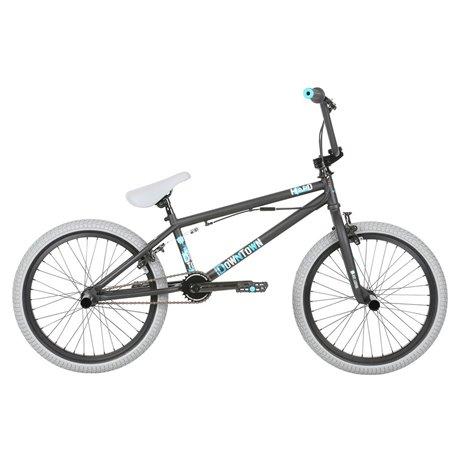 Велосипед BMX Haro Downtown DLX 19.5 матовый черный 2019
