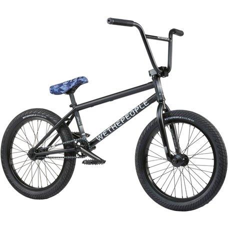 Велосипед BMX Wethepeople Crysis 2021 21 черный матовый