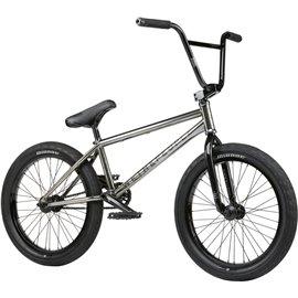 Велосипед BMX Kink Gap XL 21 Глянцевый прозрачный черный 2020