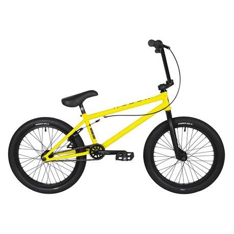 Велосипед BMX Kench Street CRO-MO 2021 20.5 желтый