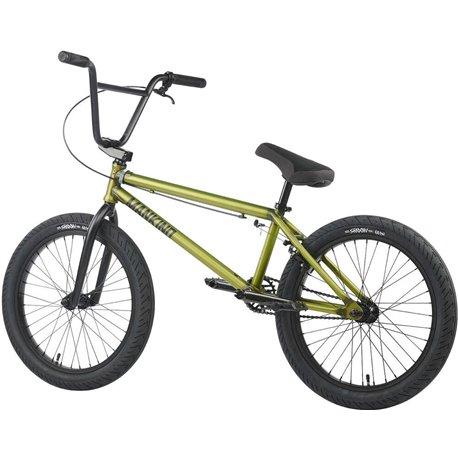 WeThePeople JUSTICE 20.75 2019 matt translucent yellow BMX bike