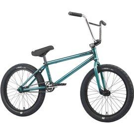 Велосипед BMX WeThePeople CRYSIS 20.5 прозрачный оливковый 2019