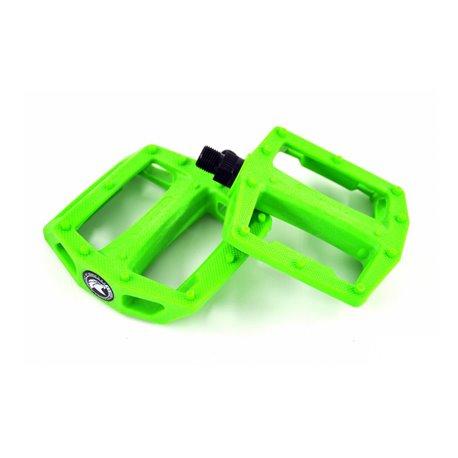 Педали BMX KENCH nylon PC зеленый