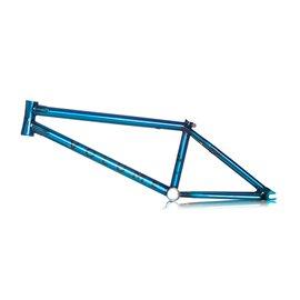 Рама BMX Volume Jarren Barboza`s Voyager 21 прозрачная синяя